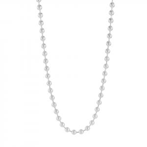 Cadena Brilho Silver de plata con balines estilo militar