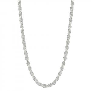 Cadena Brilho Silver de plata lazo