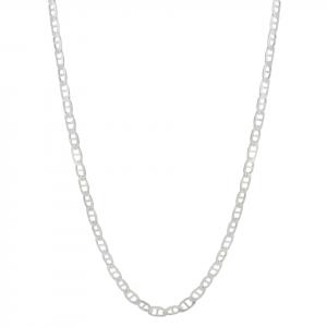 Cadena Brilho Silver de plata escalera