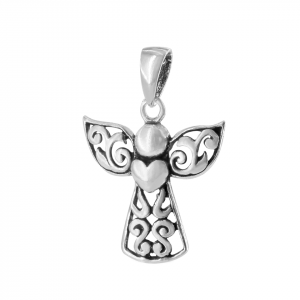 Dije Brilho Silver de plata ángel